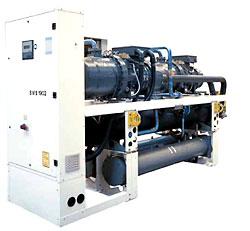 Чиллер WESPER SWS/SWR 1002-4402 с водяным охлаждением конденсатора и с выносным конденсатором