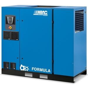 винтовой компрессор abac formula me37 с редукторным приводом и осушителем
